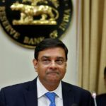 RBI Governor Patel attends news conference after bi-monthly monetary policy review in Mumbai