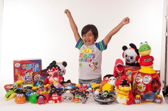 7-year-old earns $22 million by reviewing toys, becomes highest paid Youtuber in 2018