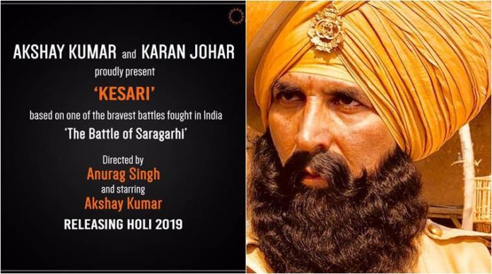 Akshay Kumar spotted with 'Kesari