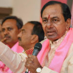 K Chandrashekar Rao takes oath as Telangana CM for second consecutive term