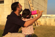 Akshay Kumar gives kite flying lessons to daughter Nitara on Makar Sankranti—Watch