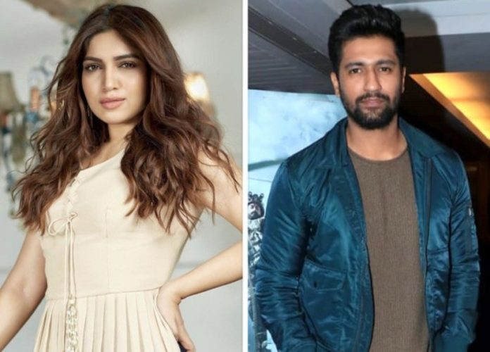 Bhumi Pednekar and Vicky Kaushal in Karan Johar's horror film