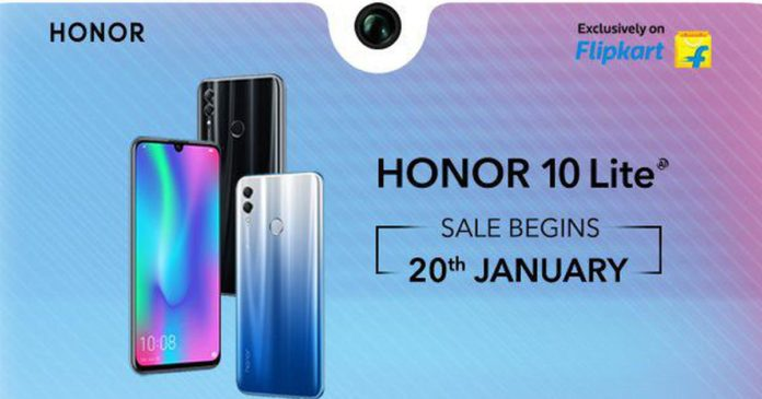 Honor 10 Lite launched in India, sale on January 20 Price, specs and more