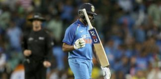 Rohit Sharma's brilliant ton goes in vain as India lose 1st ODI against Australia by 34 runs