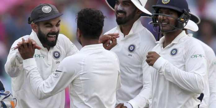 Sydney Test India inch closer to maiden series win before rain stops third day's play