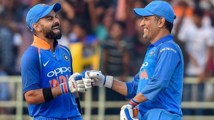 Virat Kohli, MS Dhoni star in series-levelling win for India against Australia
