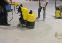 concrete polished floors