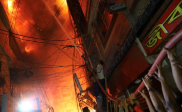 69 killed as massive fire breaks out in chemical warehouses in Bangladesh capital
