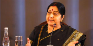 EAM Sushma Swaraj rakes up Pulwama attack in strong words with Chinese counterpart Wang Yi