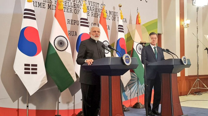 Time has come for world to unite in fight against terrorism PM Narendra Modi in South Korea