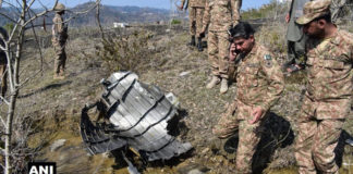 Wreckage of Pakistani Air Force F-16 shot down by IAF MiG-21 spotted in PoK