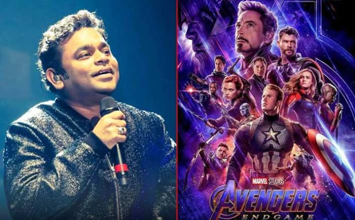 AR Rahman creates India anthem for 'Avengers Endgame'