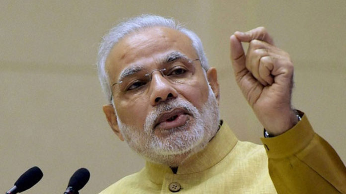Congress is anti-thesis of Gandhian culture, says Narendra Modi