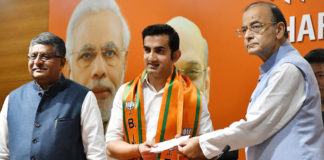 Gautam Gambhir joins BJP, likely to contest Lok Sabha election