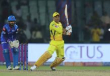 Team Chennai beats Delhi by six wickets in IPL 2019 clash