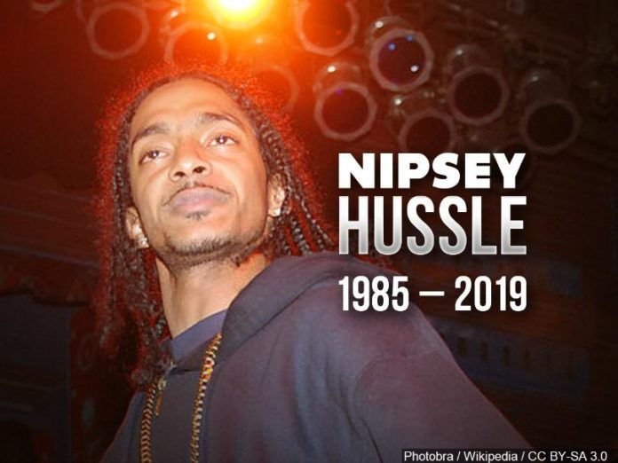 Grammy-nominated rapper Nipsey Hussle shot dead in Los Angeles