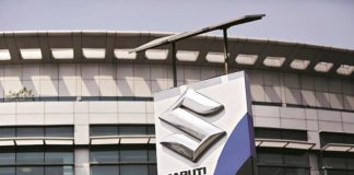 Maruti reports 1.6% dip in March sales at 1,58,076 units